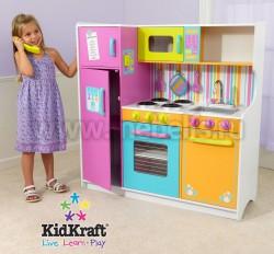Детская кухня Делюкс от компании kidkraft (53100_KE)