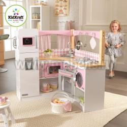 Большая угловая детская кухня Изысканный уголок (53185_KE)