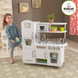 Детская кухня Винтаж, белый (kidkraft 53402_KE)