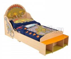 Детская кровать Динозаврик 70х140см (86938_KE)