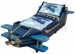 Детская кровать самолет 70х140см (76277_KE)