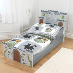 Детская кровать рыцарский замок 70х140см (76279_KE)