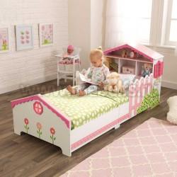 Детская кровать кукольный домик 70х140см (76255_KE)