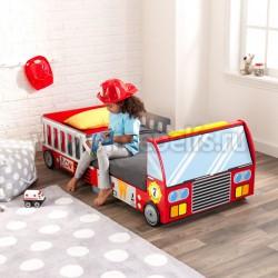 Детская кровать пожарная машина 70х140см (76031_KE)