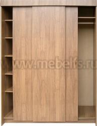 Шкаф купе для прихожей без зеркала (1650мм).