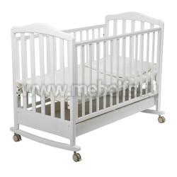 Кровать для Новорожденного Винни 60х120 (белая)