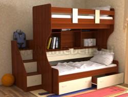 Двухъярусная кровать со столом Дуэт-4 (ЯВ).