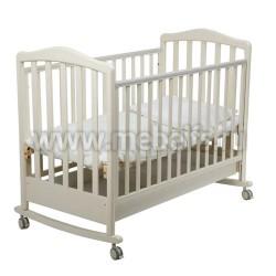 Кровать для Новорожденного Винни 60х120 (слоновая кость)