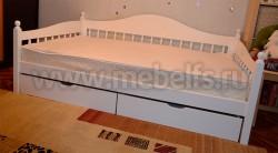 Односпальная кровать-тахта F3 (80х190) с ящиками.