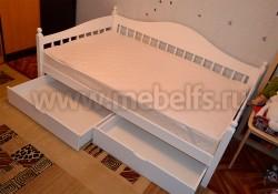 Односпальная кровать-тахта F3 (70х190) с ящиками.