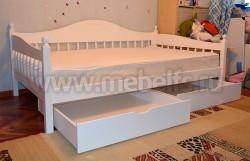 Односпальная кровать-тахта F3 (90х190) с ящиками.