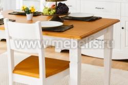 Стол обеденный Дания 100х80 из массива