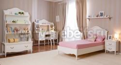 Односпальная кровать Айно-2 90х190 из массива сосны.