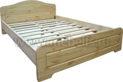 Двуспальная кровать Услада 180х200 из сосны.