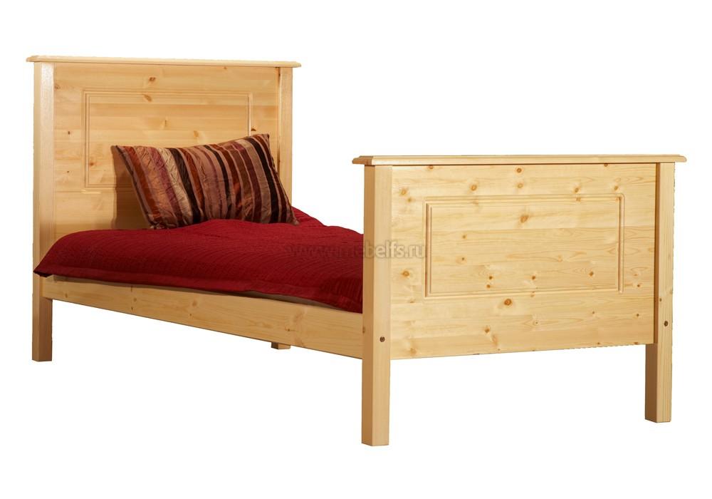 Деревянные односпальные кровати от производителя