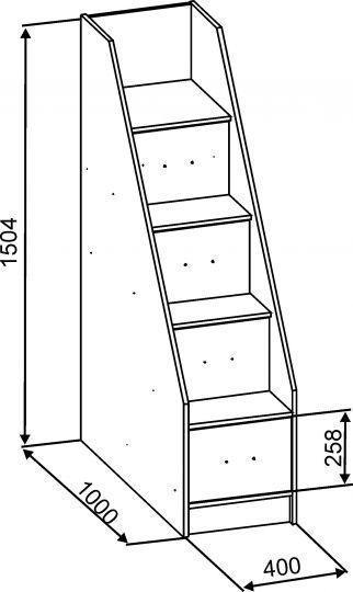 в дизайне кровати-чердака